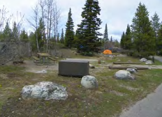 campsites in a row