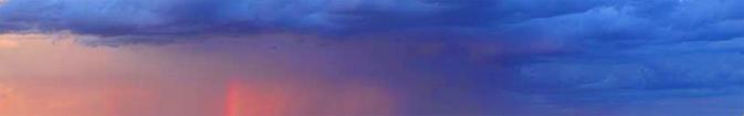 darkclouds at top, some sunset light below