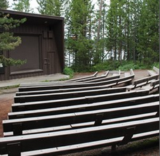 stage and rows of seating