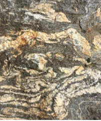 section of rock