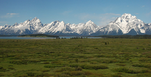 long view to Teton Range
