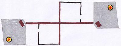 drawing of floorplan