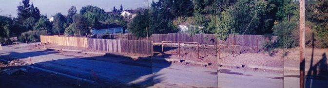 fence being built
