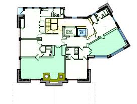 Ahwahnee hotel Yosemite sixth floor plan copy