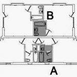 fourplex floor plan