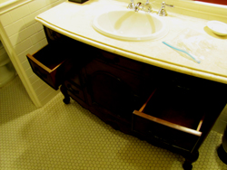 ahwahnee hotel cottage large sink counter
