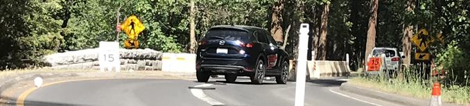car changing lane