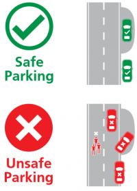 safe parking drawing
